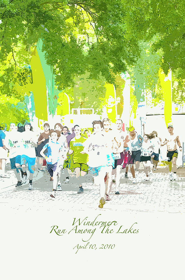 Run Walk Poster Photograph