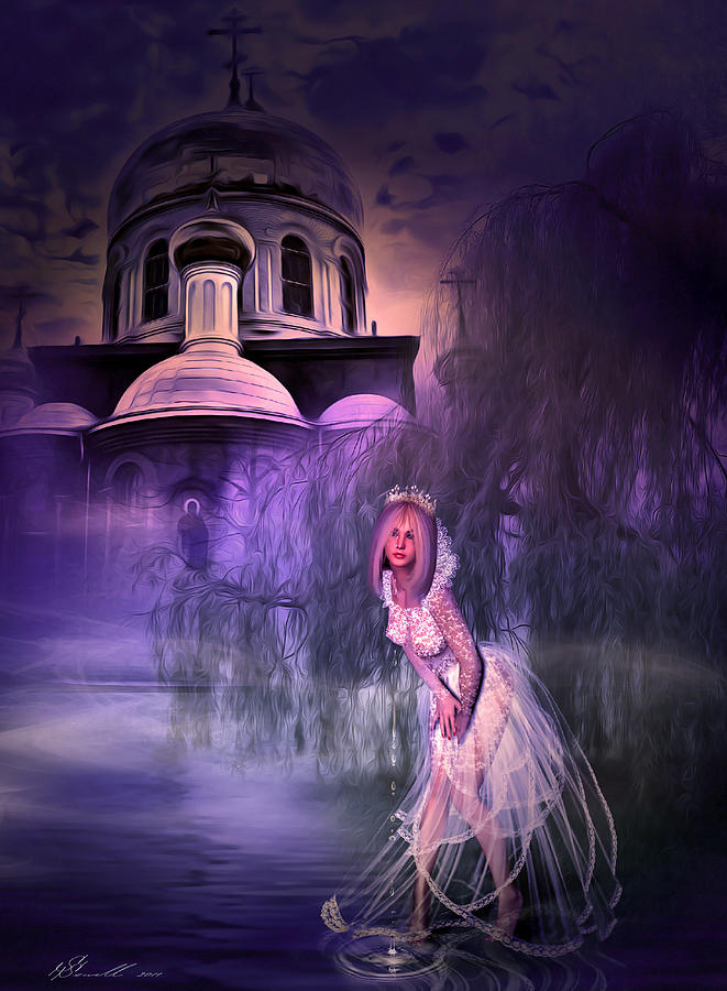 Runaway Bride Digital Art