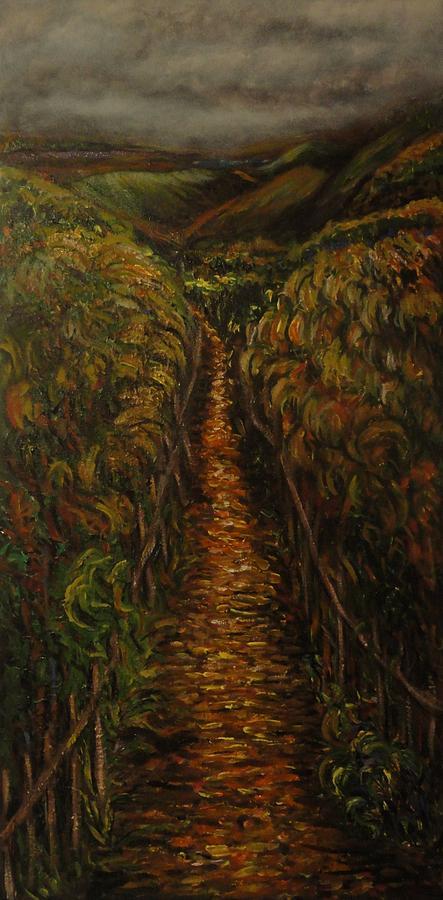 Trees Painting - Rural Rambles by Deborah Palmer