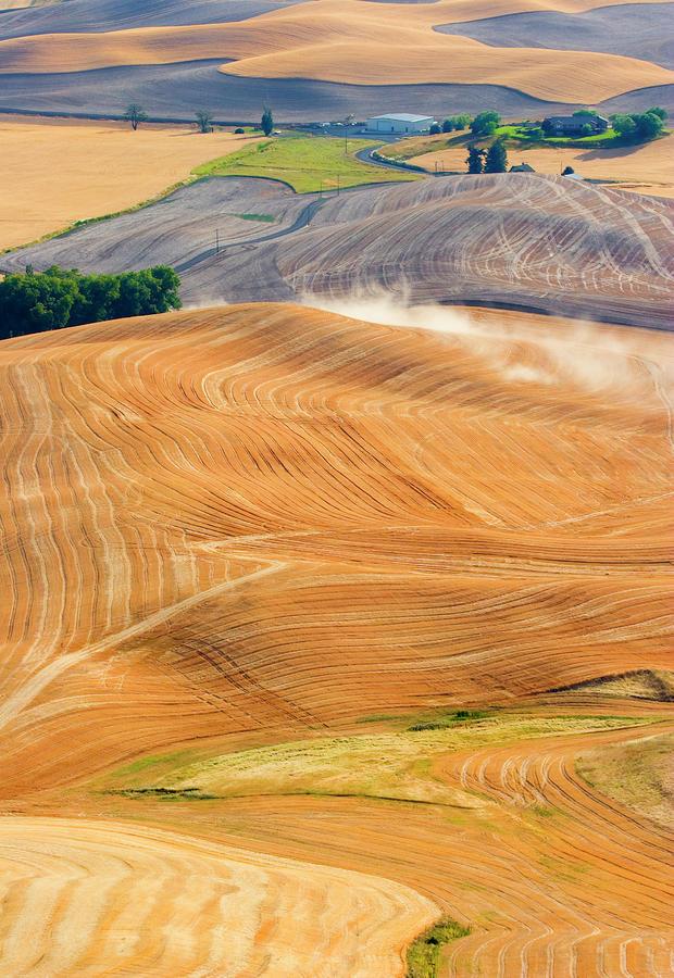 Rural Traffic Photograph
