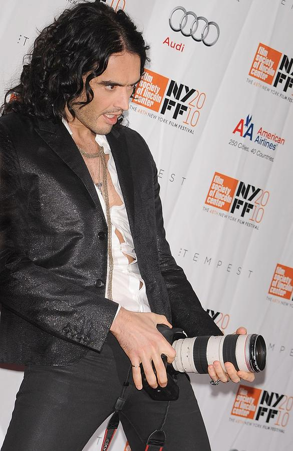 Russell Brand At Arrivals For 48th New Photograph