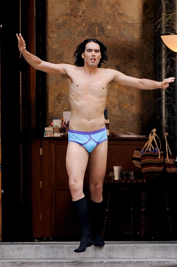 Russell Brand, Performs A Scene Photograph