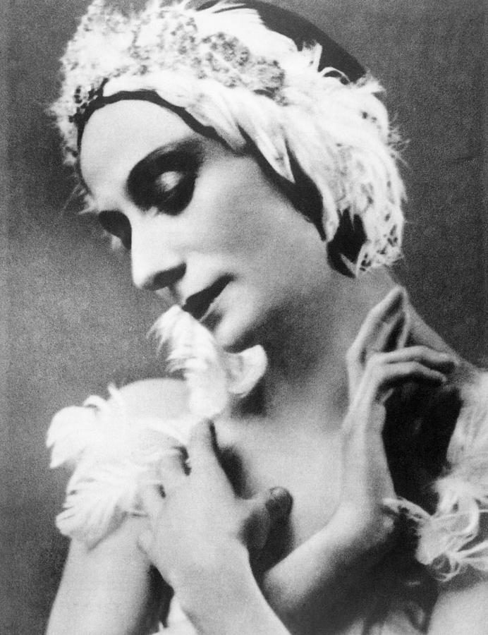 Russian Ballet Dancer Anna Pavlova Photograph