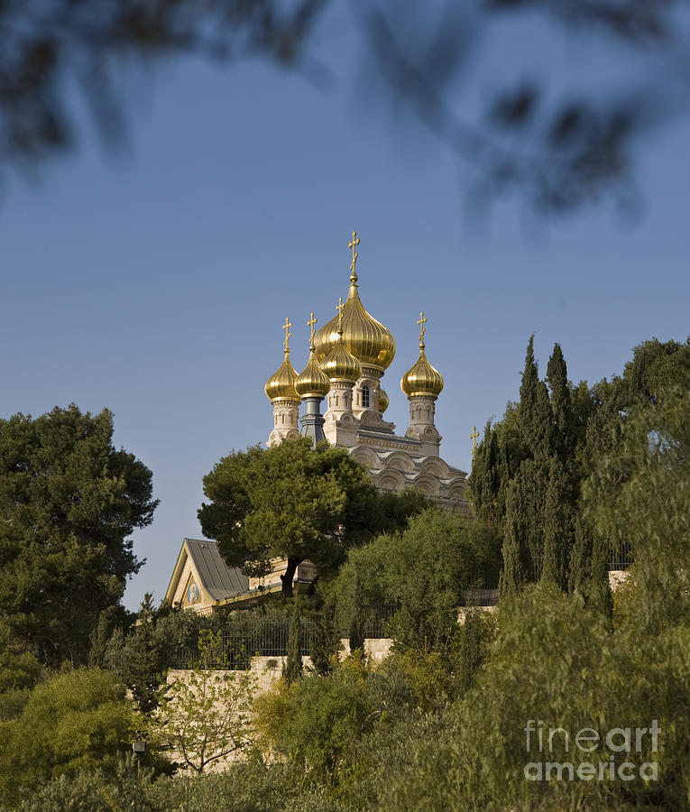 Russian Orthodox Church Photograph  - Russian Orthodox Church Fine Art Print
