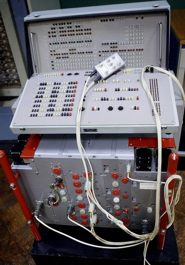 Russian Spacecraft Computer Photograph