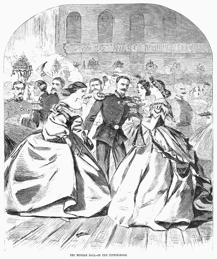 Russian Visit, 1863 Photograph
