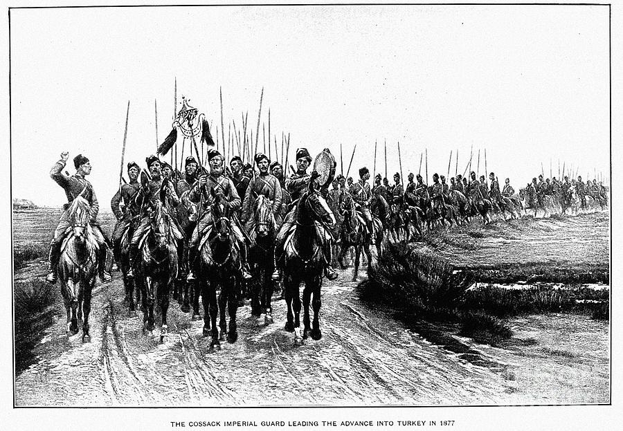 Russo Turkish War 1877 78 Photograph By Granger