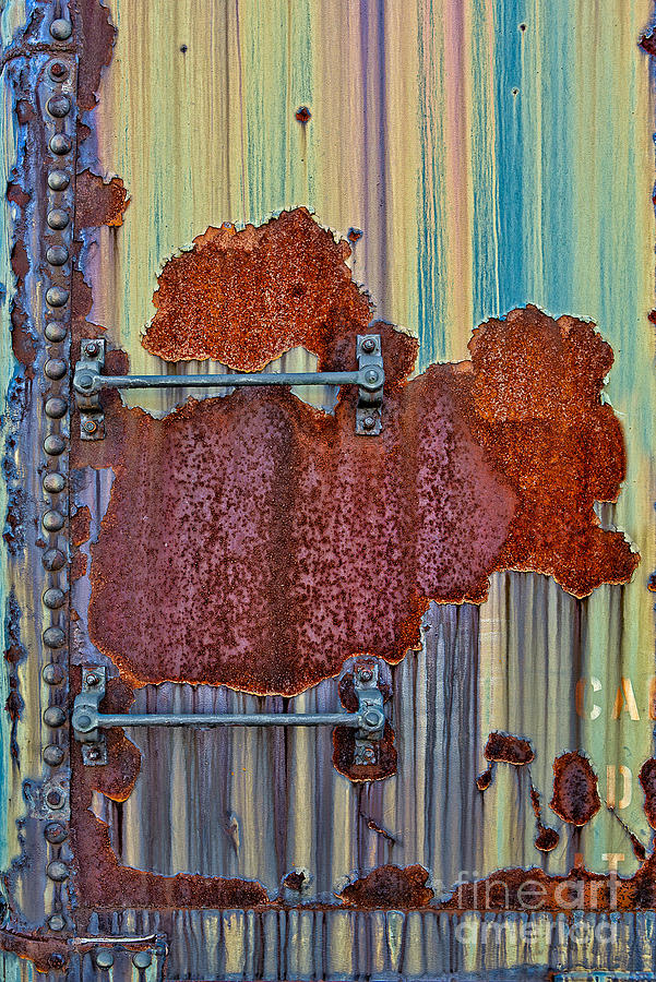 Rusted Art Photograph  - Rusted Art Fine Art Print