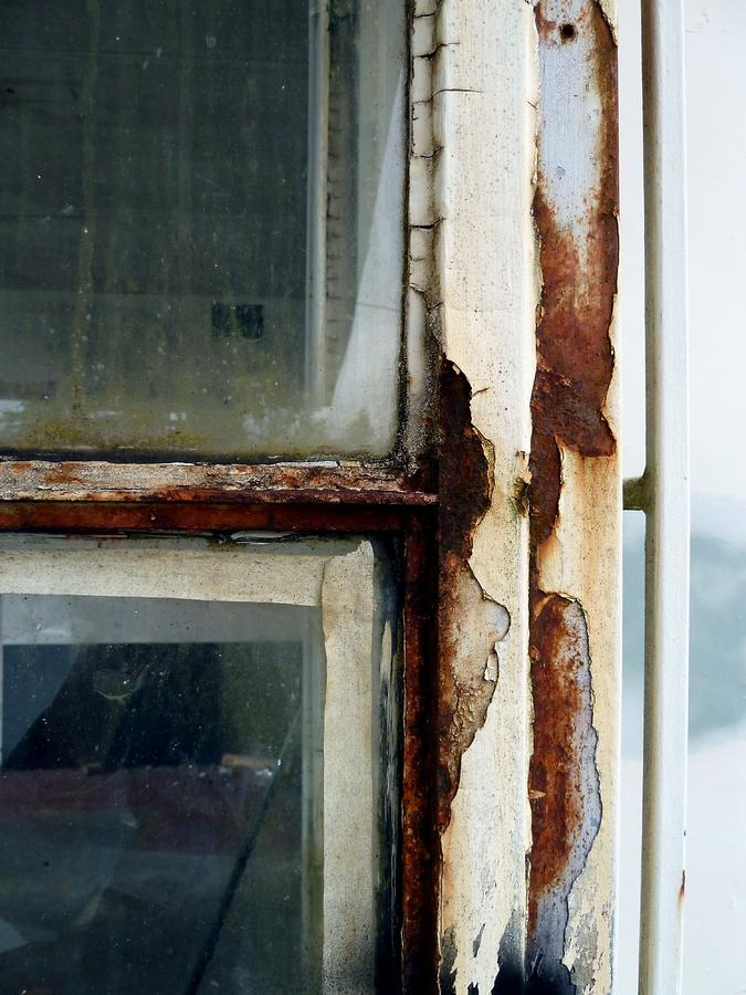 Rusted Window Photograph  - Rusted Window Fine Art Print
