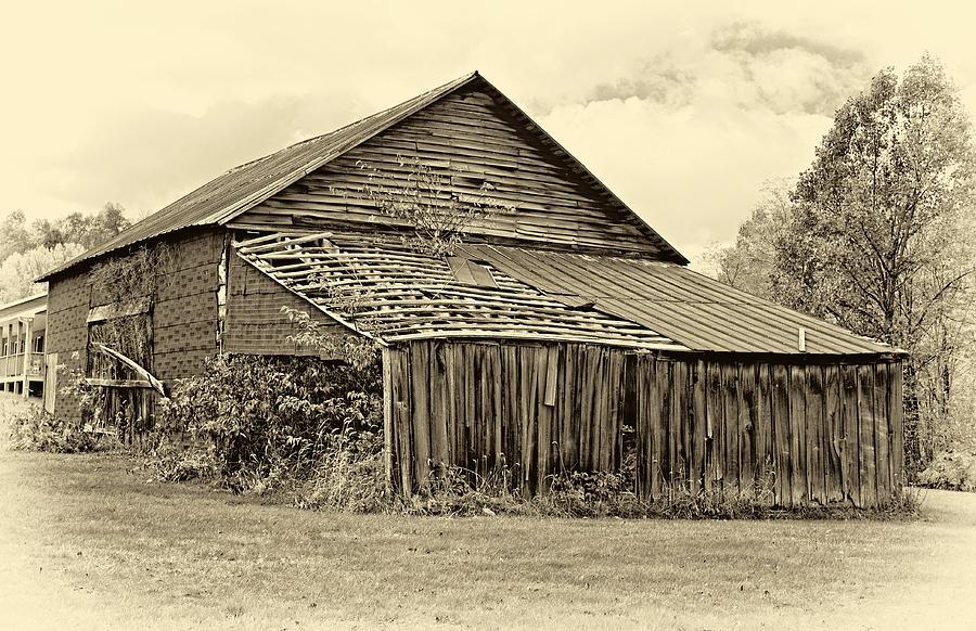 West Virginia Photograph - Rustic Charm Sepia by Steve Harrington