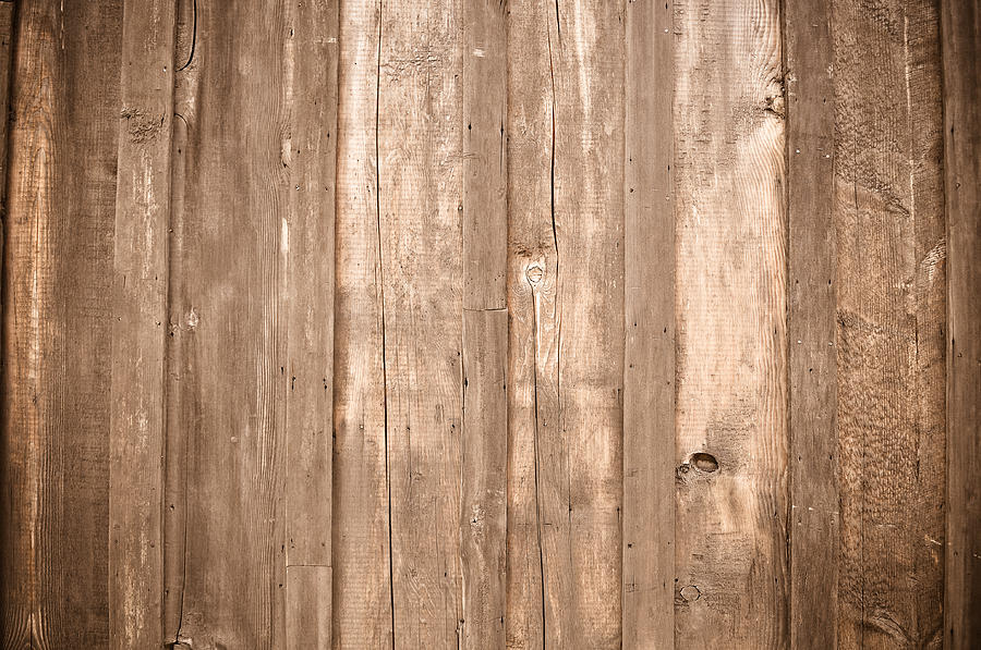 Rustic Light Wood Background is a photograph by Brandon Bourdages ...