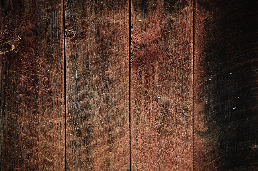 Rustic Wood Background Red And Black Photograph by Brandon ...