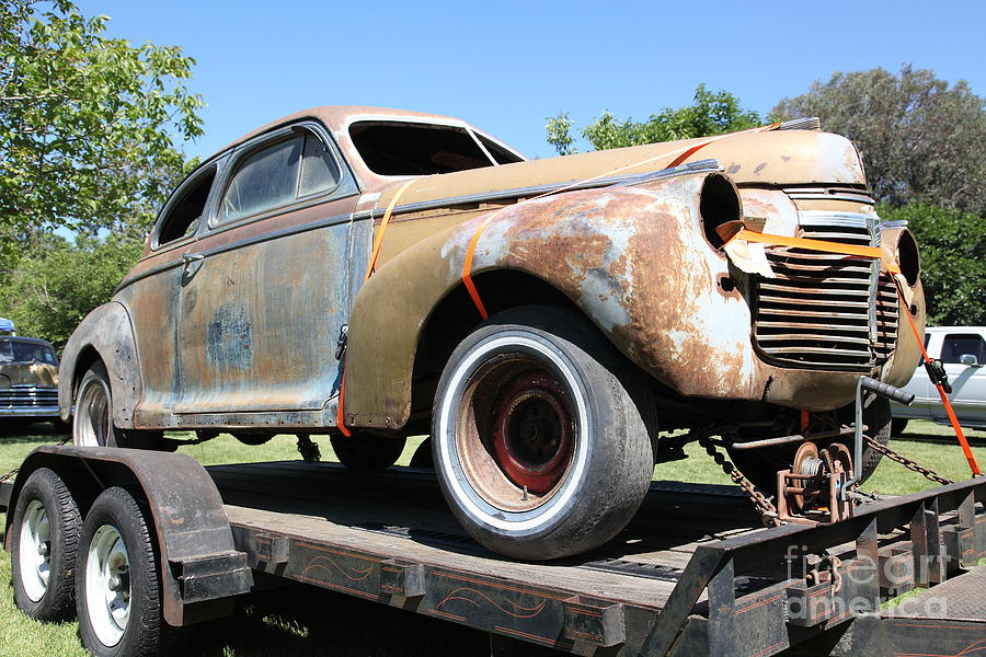 Rusty 1941 Chevrolet . 5d16211 Photograph