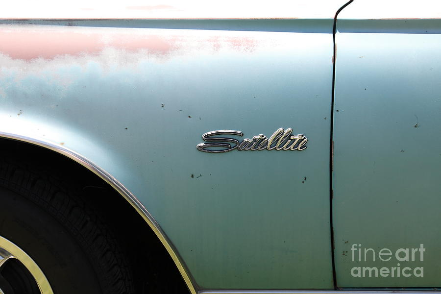 Rusty 1965 Plymouth Satellite . 5d16630 Photograph