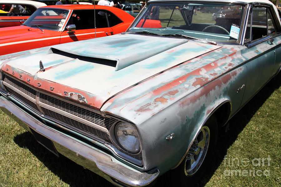 Rusty 1965 Plymouth Satellite . 5d16631 Photograph