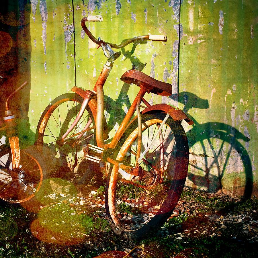 Rusty Bikes Photograph