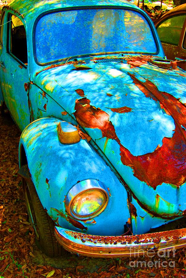 Rusty Blue Photograph