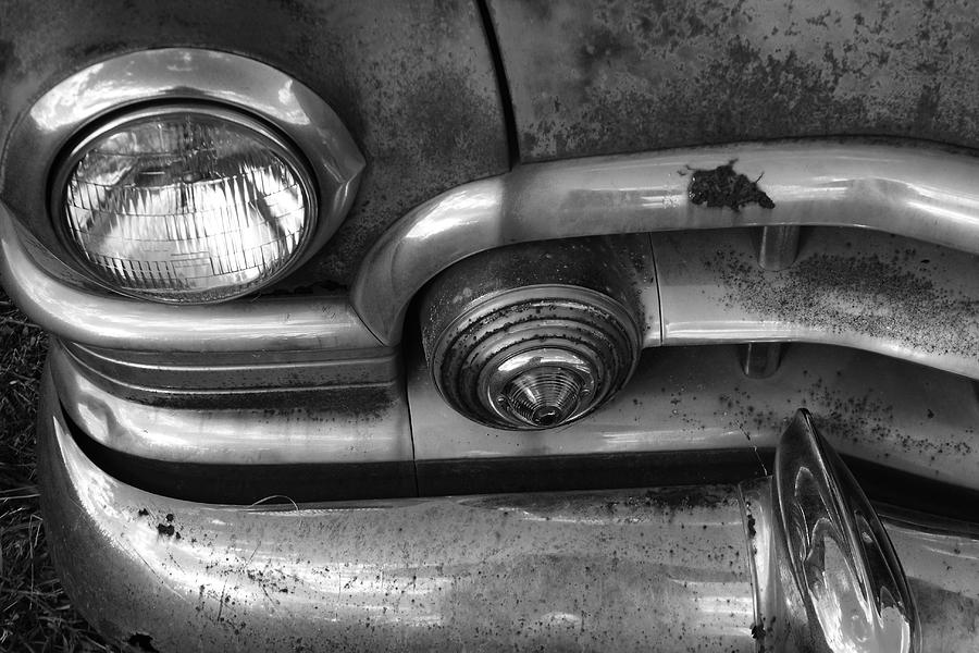 Rusty Cadillac Detail Photograph  - Rusty Cadillac Detail Fine Art Print
