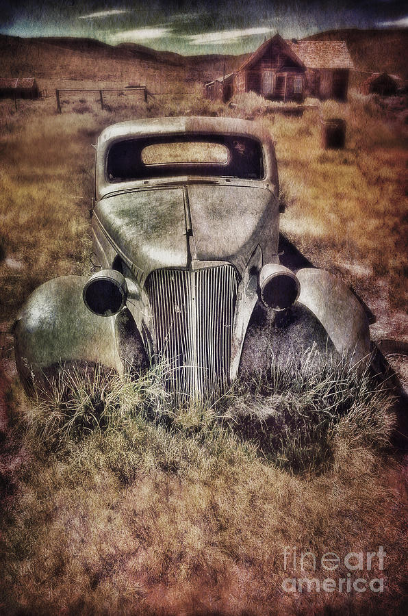 Rusty Car  Photograph