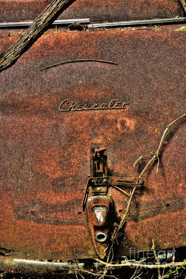 Rusty Chevy Photograph  - Rusty Chevy Fine Art Print