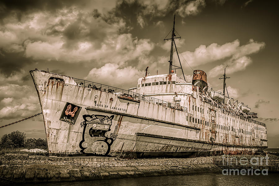 Graffiti Photograph - Rusty Duke by Adrian Evans