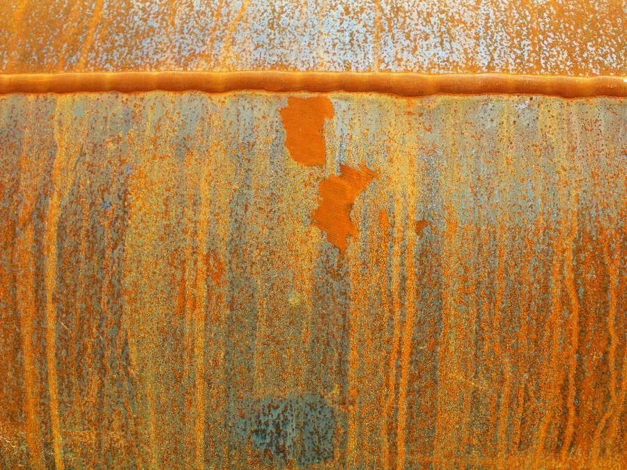 Rusty Lines I Photograph