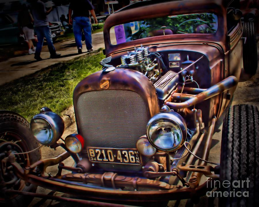 Rat rod photograph rusty rat rod by perry webster