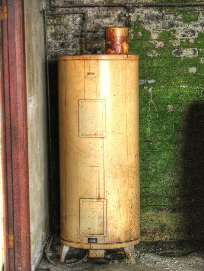 Vintage Water Heater 42