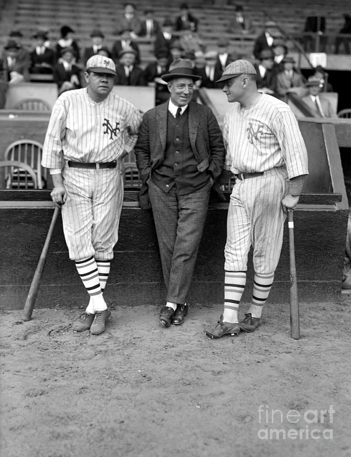 1923 Photograph - Ruth, Dunn And Bentley by Granger