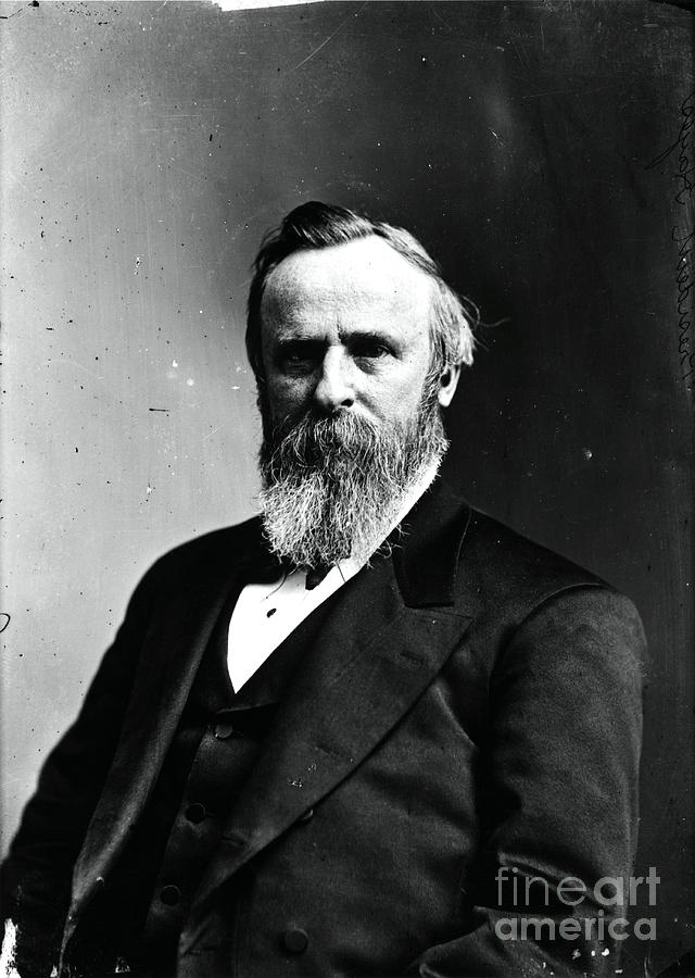 Rutherford B. Hayes, 19th American Photograph