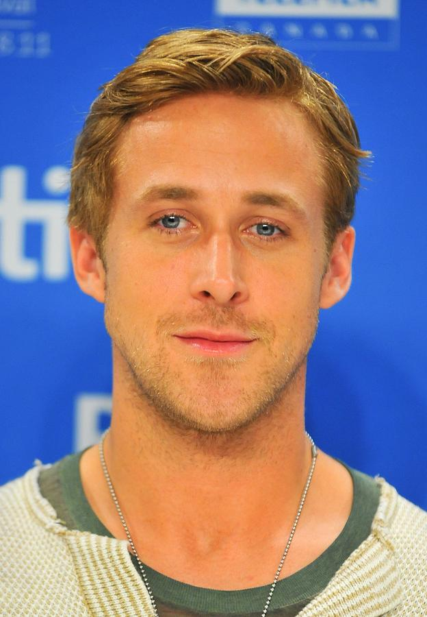 Ryan Gosling At The Press Conference Photograph