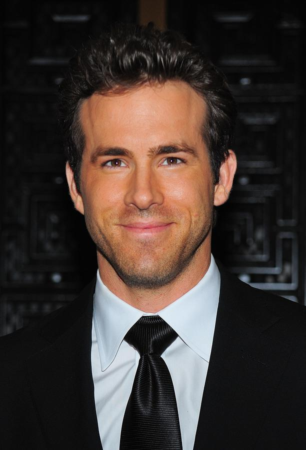 Ryan Reynolds At Arrivals For American Photograph  - Ryan Reynolds At Arrivals For American Fine Art Print
