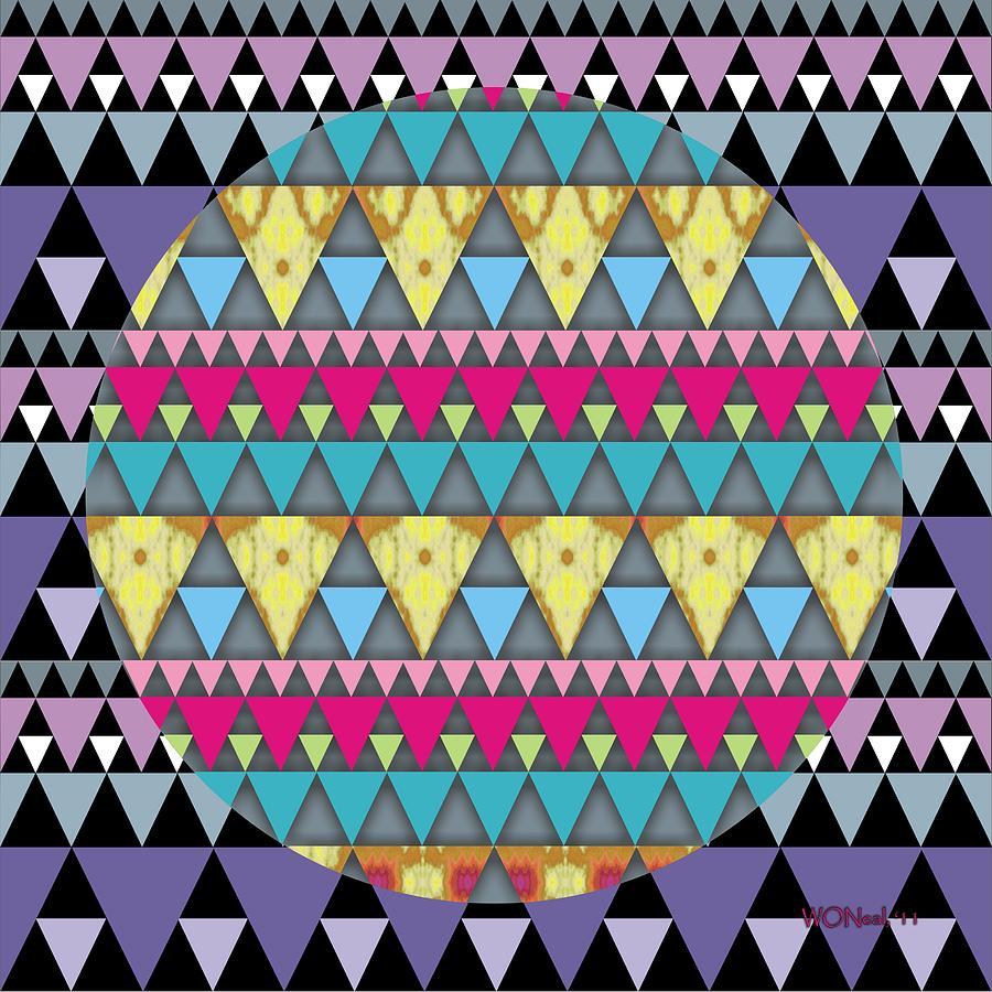 S-pyramids 1 Digital Art