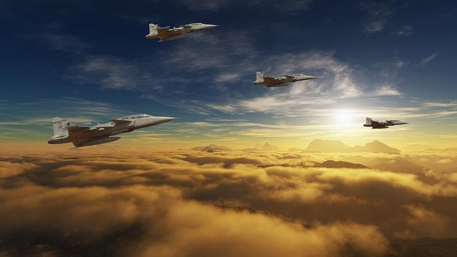 Sa Air Force Iron Eagles Photograph  - Sa Air Force Iron Eagles Fine Art Print
