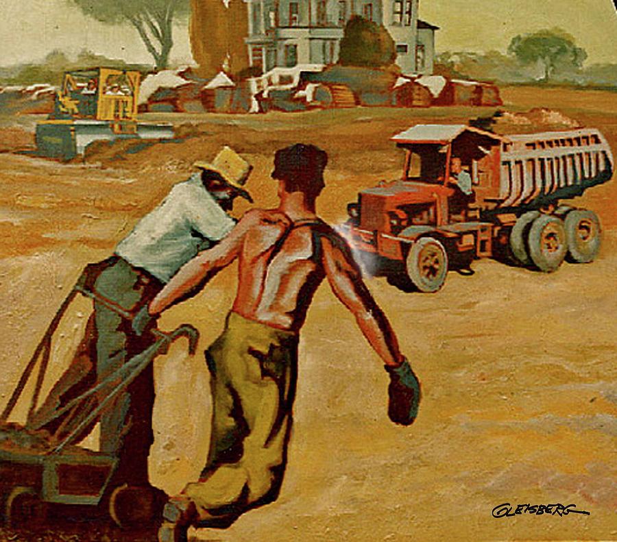 Saad Mural Panel 6 Painting