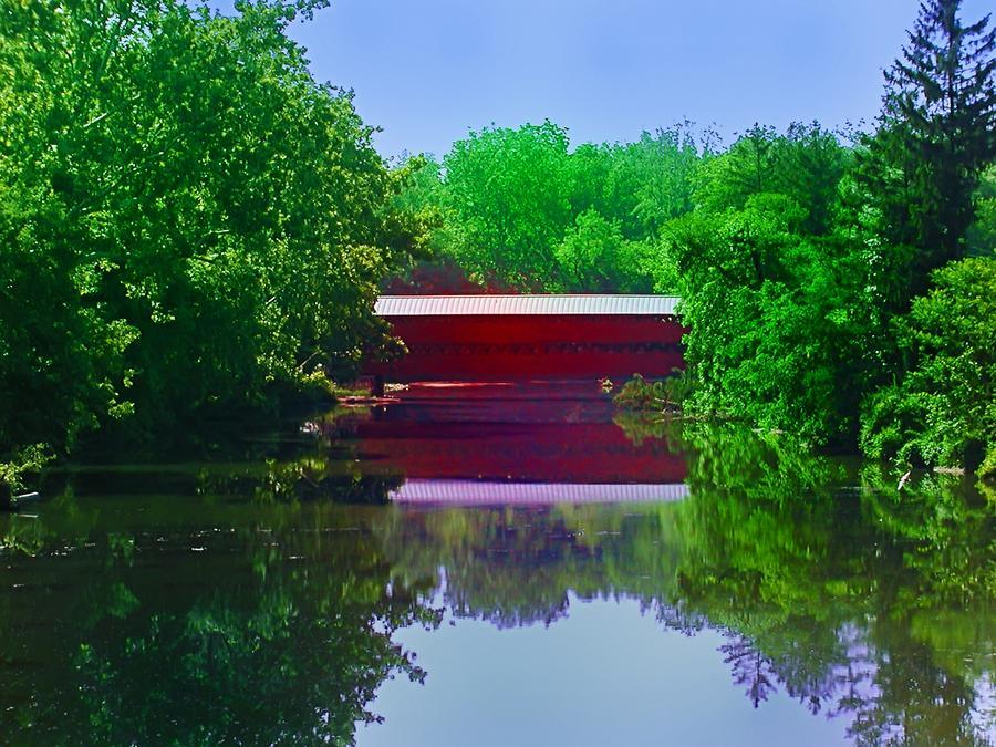 Sachs Covered Bridge - Gettysburg Pa Photograph