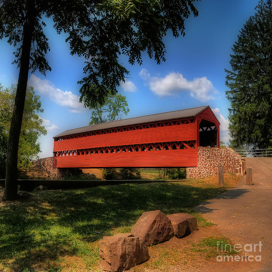 Sachs Covered Bridge Photograph