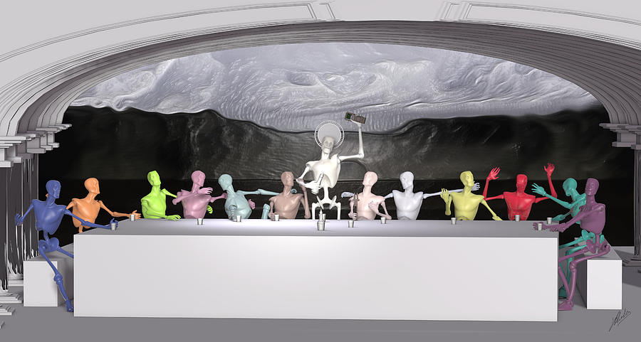 Sacrament Of The Machines Digital Art