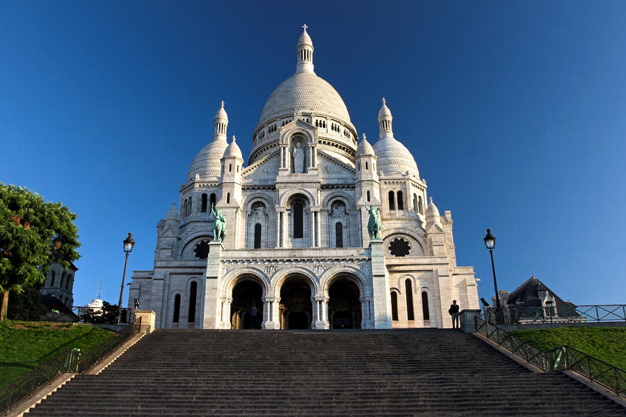 Sacre coeur montmartre paris photograph
