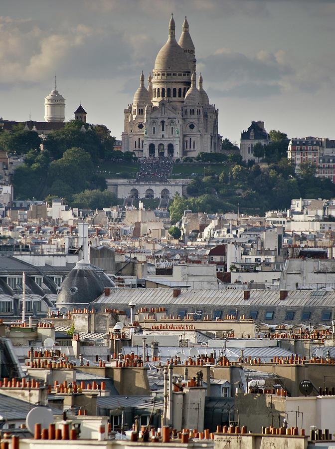 Sacre Coeur Rooftops Photograph