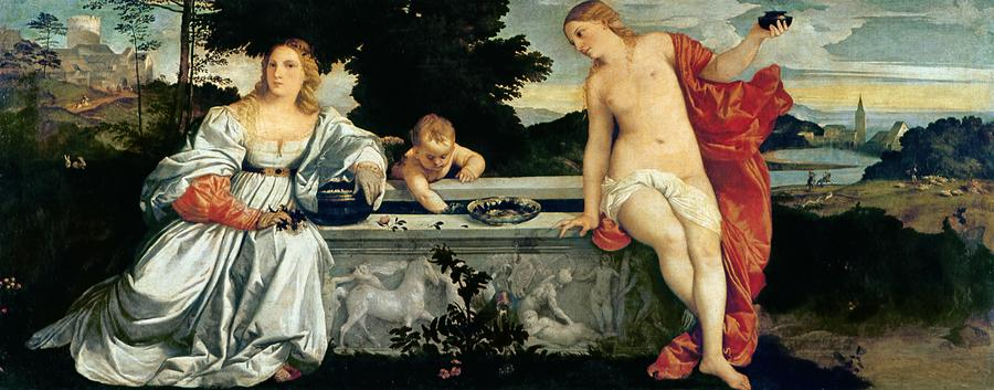 Sacred And Profane Love Painting