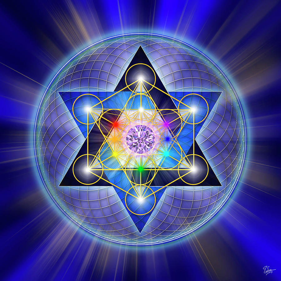 Sacred Geometry 15 Digital Art
