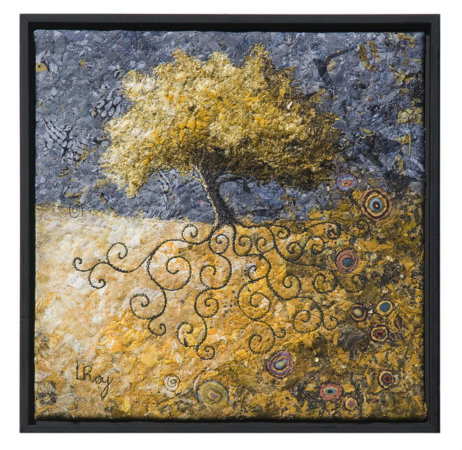 Sacred Tree 1 Tapestry - Textile