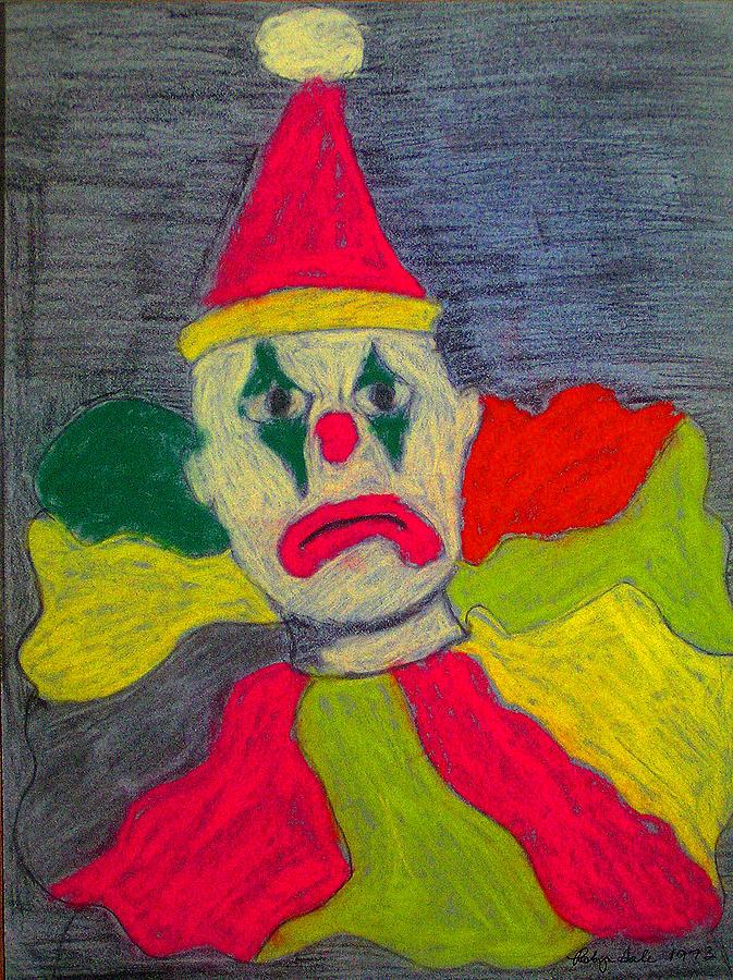 Sad Clown Pastel