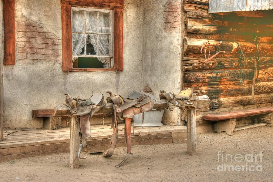 Saddle Up Photograph  - Saddle Up Fine Art Print