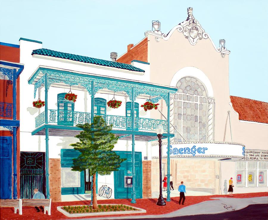Saengar Theater Pensacola Painting