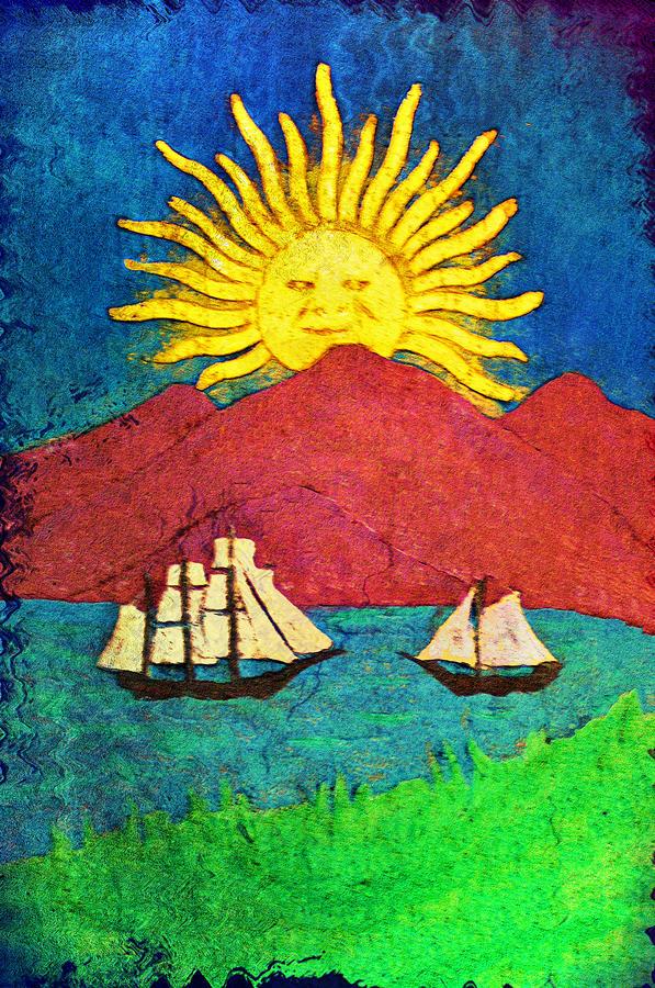 Sailboat Digital Art - Safe Harbor by Bill Cannon