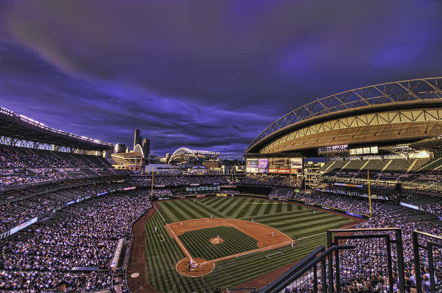 Safeco Field Photograph  - Safeco Field Fine Art Print