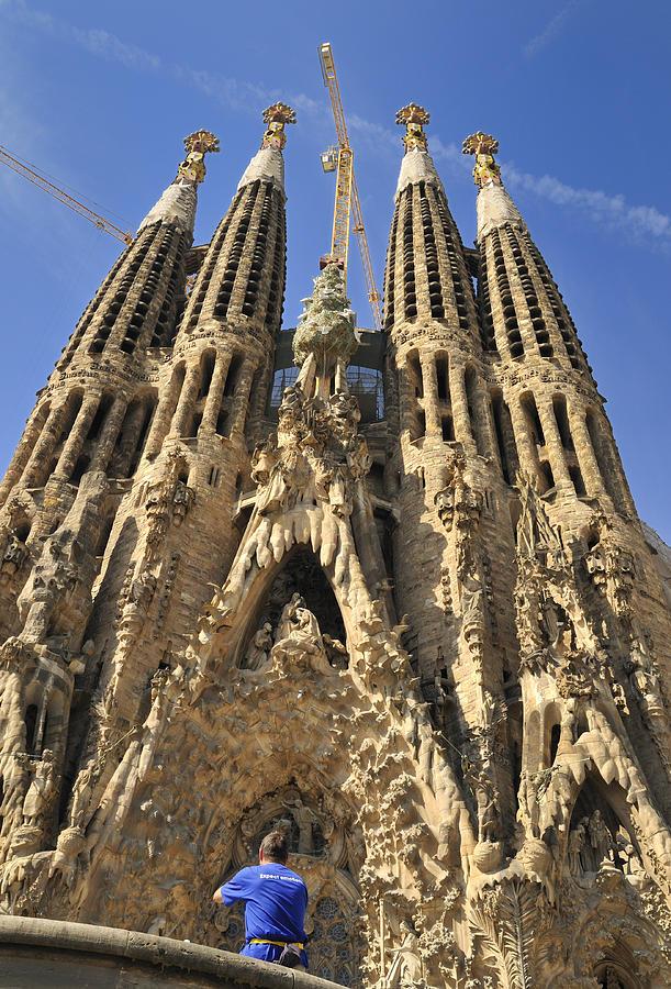 Sagrada Familia Photograph - Sagrada Familia Barcelona Spain by Matthias Hauser