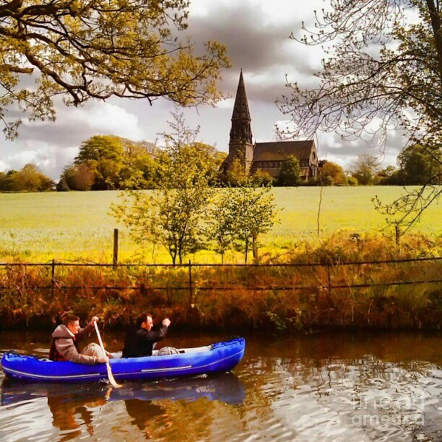 Dinghy Photograph - Sail Away by Isabella F Abbie Shores FRSA